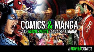 Nuovi arrivi Comics & Manga!