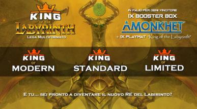 "[Classifica aggiornata] LEGA ""King of The Labyrinth""  & STANDARD SERIES"