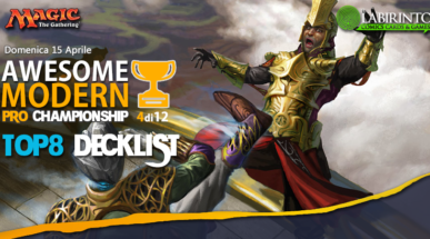 Top8 Decklist – Awesome Modern Pro Championship Vol.4