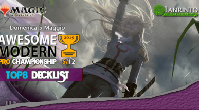 Top8 Decklist – Awesome Modern Pro Championship Vol.5