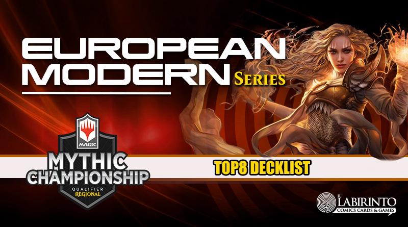 Top8 Decklist – European Modern Series – 93 Players