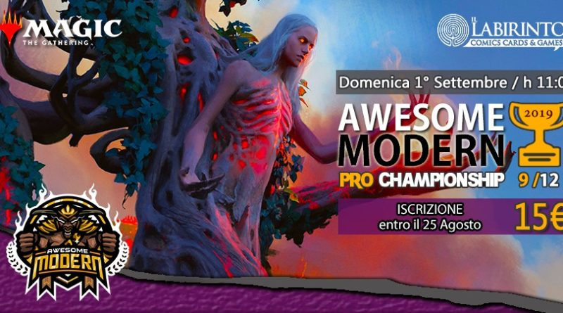 Top8 Decklist – Awesome Modern Pro Championship Vol.9