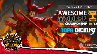 Top8 Decklist – Awesome Modern Pro Championship Vol.10