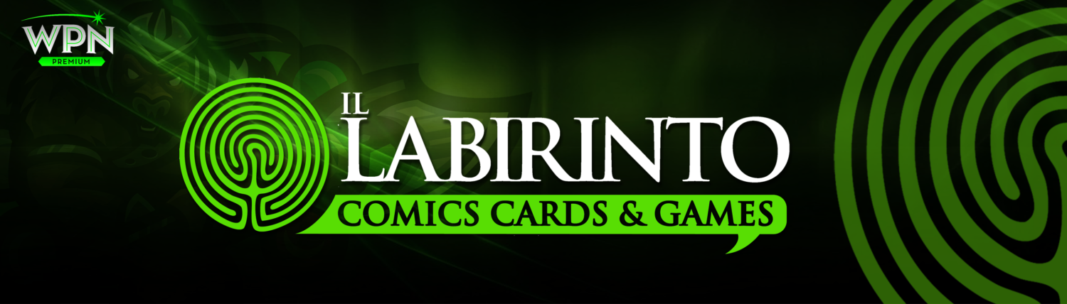 IL LABIRINTO – Comics, Cards & Games